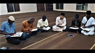 Mehfil e Husn e Qiraat Students Jamea Ahmadiyya Ghana محفل حسنِ قرآت طلبا جامعہ احمدیہ گھانا