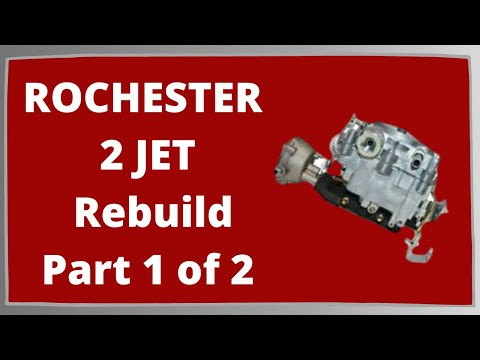 Rochester 2G 2GC Rebuild Part 1 of 2