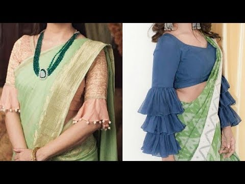 Latest Trendy Blouse Sleeves Designs Beautiful Designer Blouse Sleeves Designs For Modern Party Look Youtube