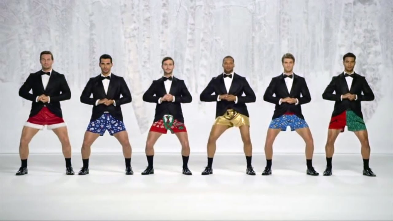 kmart joe boxer commercial Christmas Jingle Bells Show Your Joe ...