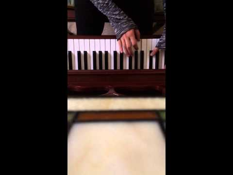 "Eric Whitacre's ""Water Night"" on piano."