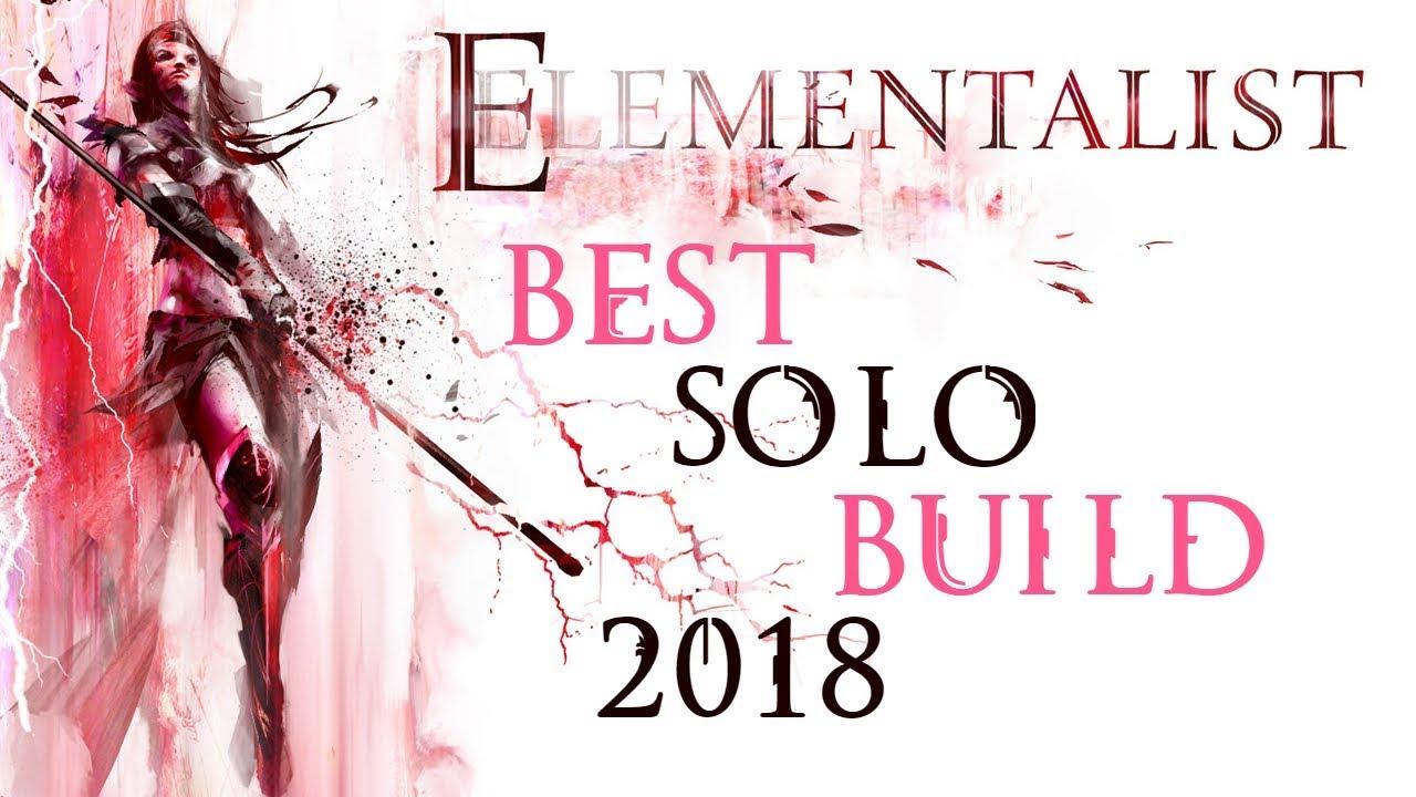 Guild Wars 2 Best Solo Class 2019 Guild Wars 2   Elementalist best solo build 2018   YouTube