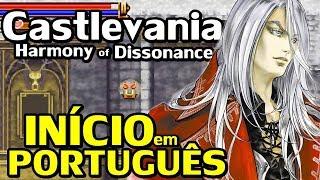 Castlevania: Harmony of Dissonance (GBA) - O Início em Português