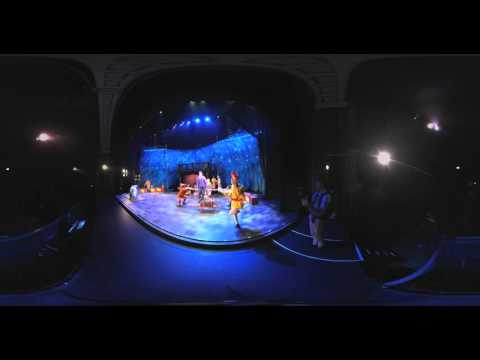 360° Dress rehearsal Broadway cast PIPPIN @ Theater Carré Amsterdam - EXTRAORDINARY