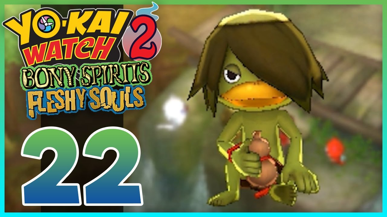 Yo Kai Watch 2 Bony Spirits Fleshy Souls Episode 22 | Faux Kappa! (YoKai Watch 2 Gameplay)