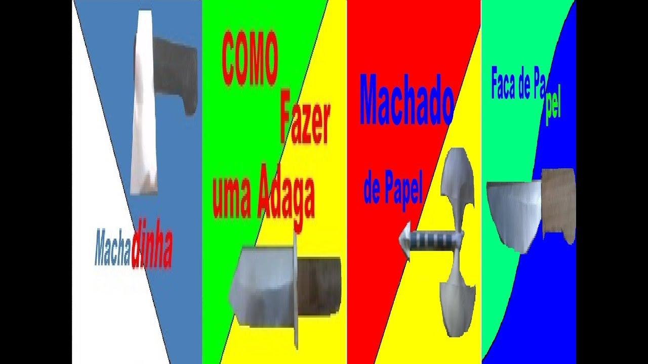4 EM 1 ARMAS DE PAPEL