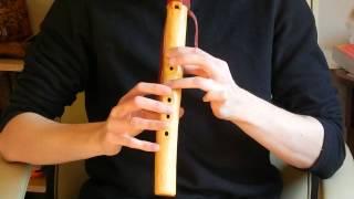 Flet indiański - cztery krótkie utwory