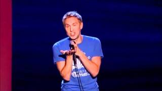 Russell Howard Right here Right now - Justin Bieber mocked