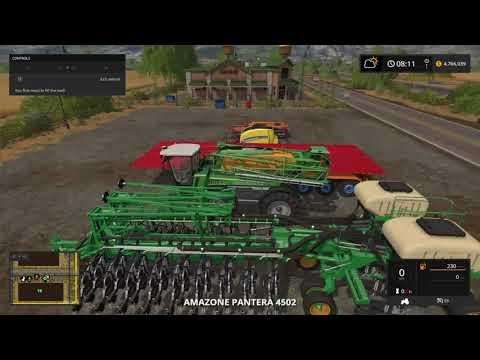 Farming Simulator 17 with my friend hamish