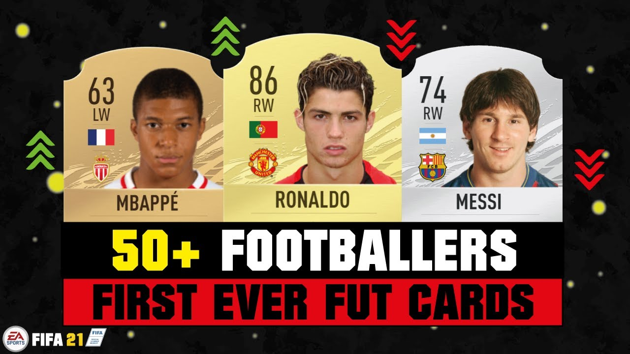 FIFA 21 | 50+ FOOTBALLERS FIRST AND PRESENT FUT CARDS! 😱🔥| FIFA 10 - FIFA 21