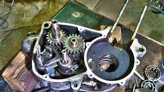 Тулица (Муравей), ремонт двигателя 1я часть