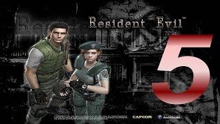 Resident Evil HD Remastered Part 5 Monster In Chains (Lets Play)