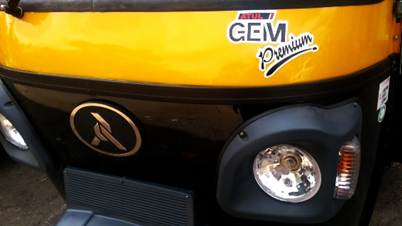 Atul Gem Premium Diesel Auto Rickshaw Complete Review Including