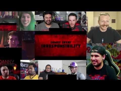 Deadpool Red Band Trailer REACTION MASHUP