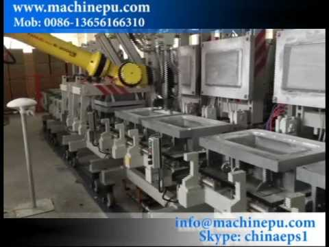Automatic Polyurethane Pillow Making Production Line With