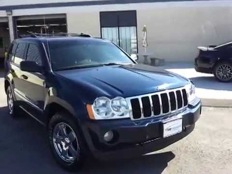 sold 2006 jeep grand cherokee limited 5 7 hemi quadra. Black Bedroom Furniture Sets. Home Design Ideas