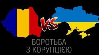 Борьба с коррупцией: Румыния против Украины. Имитация VS  реальные посадки. Шокирующее сравнение!