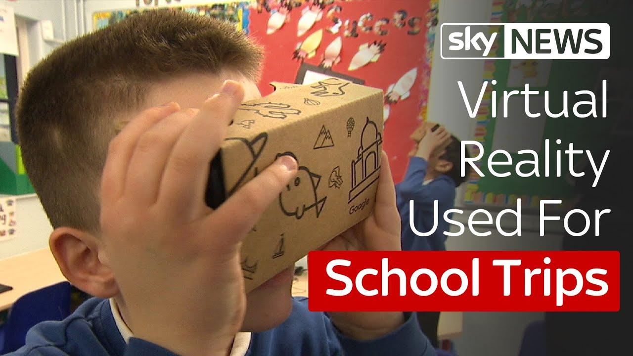 Swipe | Virtual Reality Field Trips For School Pupils - YouTube
