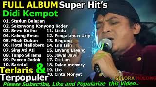 Gambar cover Full Album Campursari Didi Kempot paling hit's dan terpopuler sepanjang masa