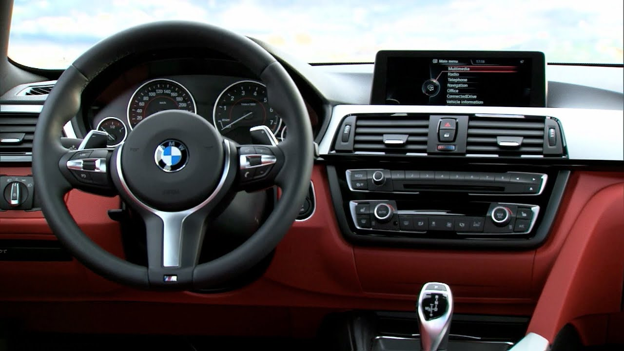 NEW BMW Series Gran Coupé INTERIOR BMW Mi YouTube - Bmw 4 series interior