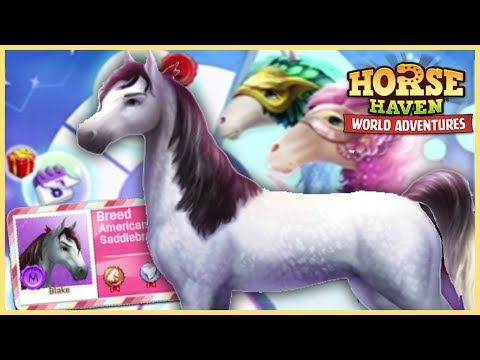 The NEW American Saddlebred Horse in Horse Haven World Adventures