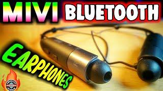 Mivi Earphones: Best Bluetooth Earphones(2018) | Mivi Collar Bluetooth Earphone Unboxing & Review