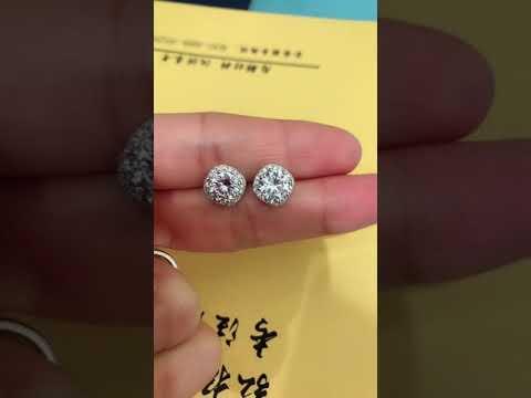 AAA Zircon Stud Earrings For Women