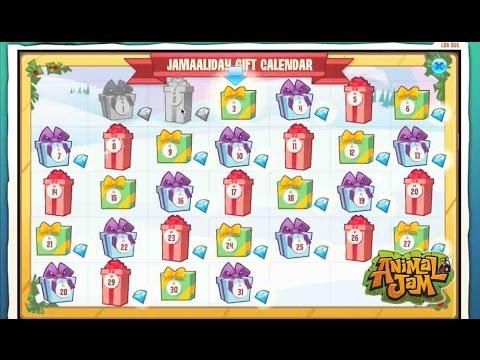 Animal Jam Advent Calendar and over 2000 Jam O Grams