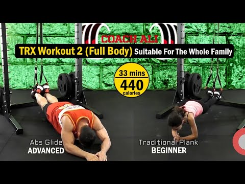 full body trx workout at home suspension training