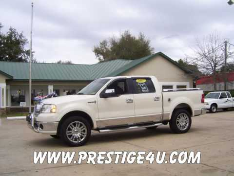 for sale used 2007 lincoln mark lt 4x4 navigation sunroof. Black Bedroom Furniture Sets. Home Design Ideas