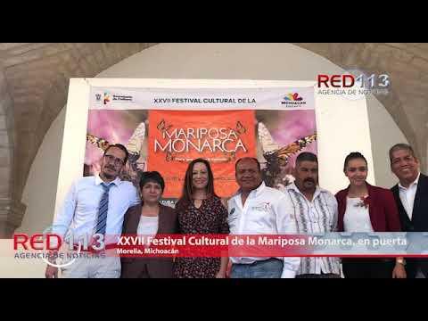 VIDEO XXVII Festival Cultural de la Mariposa Monarca, en puerta