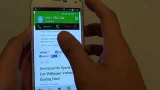 Samsung Galaxy S5: How to Answer/Reject Incoming Call