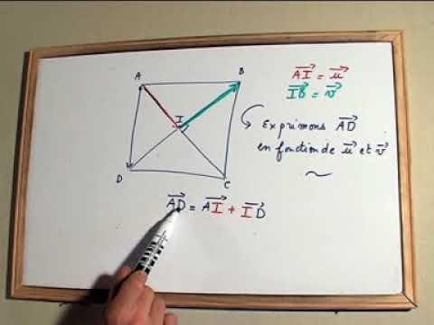 Exprimer des VECTEURS / exercices de maths niveau seconde ...