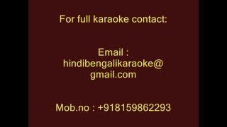 Maine Tujhe Chhod Ke Kahan Jaoonga - Karaoke - Trinetra (1991) - Kumar Sanu
