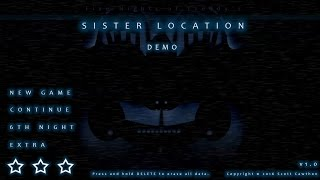 five nights at freddy s 5 fnaf 5 sister location gameplay demo teaser fan made