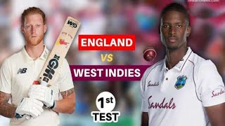 England Vs West Indies 1st test 2nd Day live match