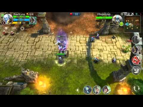 Heroes of Order and Chaos IPhone 5s Twitch streaming