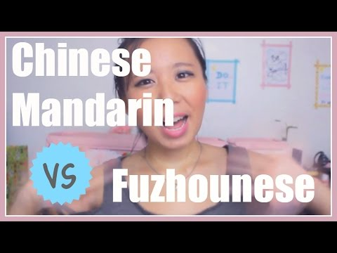 Chinese Mandarin vs Fuzhounese | Side by Side Speaking!