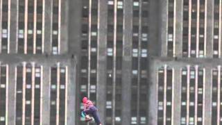 After Effects Spiderman Climbing the Empire State Building