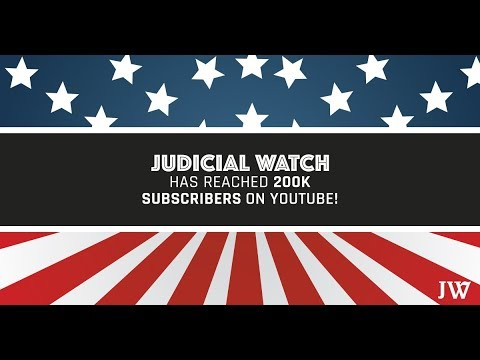 MILESTONE: Judicial Watch Reaches 200,000 Subscribers!