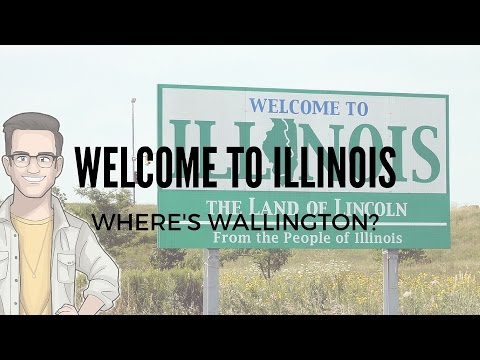 WELCOME TO ILLINOIS!