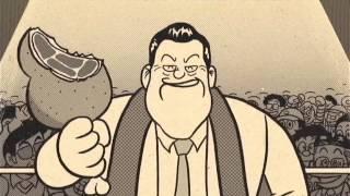 いいなCM サントリー 黒烏龍茶 「アントニオ猪木」篇