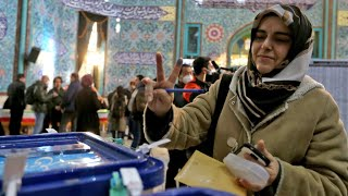 Iran votes in elections dominated by conservative candidates