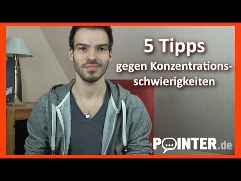 Patrick vloggt - 5 Tipps bei Konzentrationsschwierigkeiten