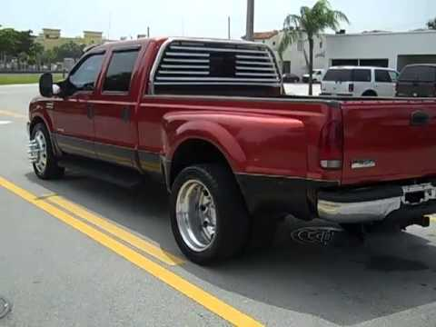 2001 FORD F350 CREW CAB 7.3L DIESEL 4 SALE! - YouTube