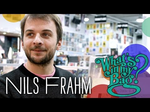 Nils Frahm - What's In My Bag?