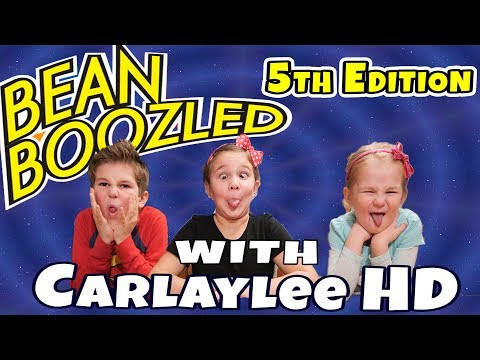 Beanboozled Challenge 5TH EDITION NEW GROSS FLAVORS!! with CarlayleeHD