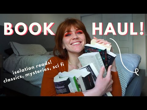 my first book haul ever