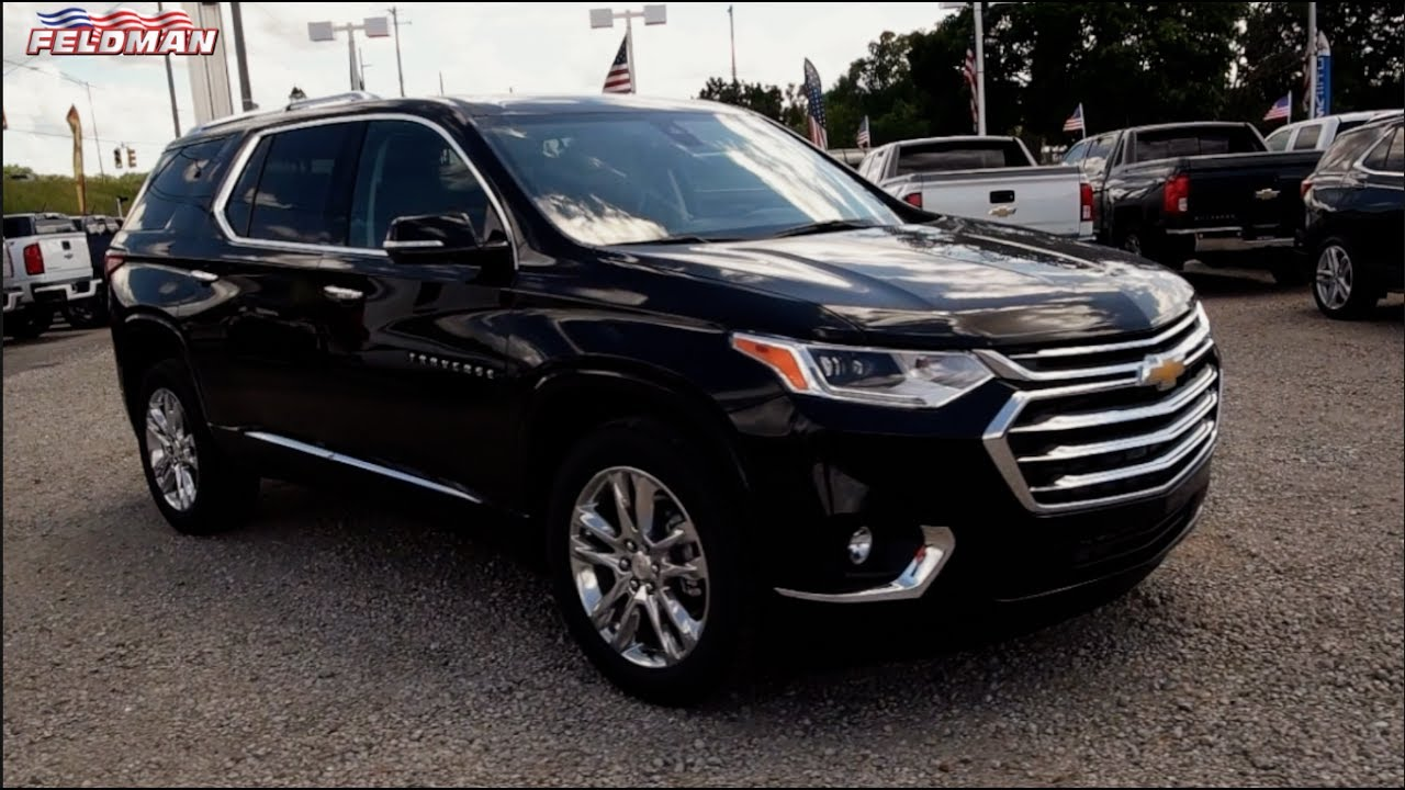 2018 Chevrolet Traverse High Country Preview Michigan - YouTube