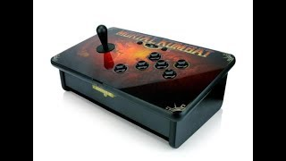 Mortal Kombat Tournament Edition Fighting Stick for the Xbox 360l